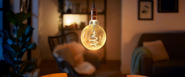 Philips komt met extra grote deco LED-kooldraadlampen