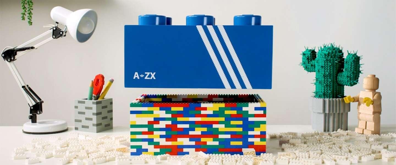 Droomsamenwerking: adidas en LEGO komen met exclusieve sneaker