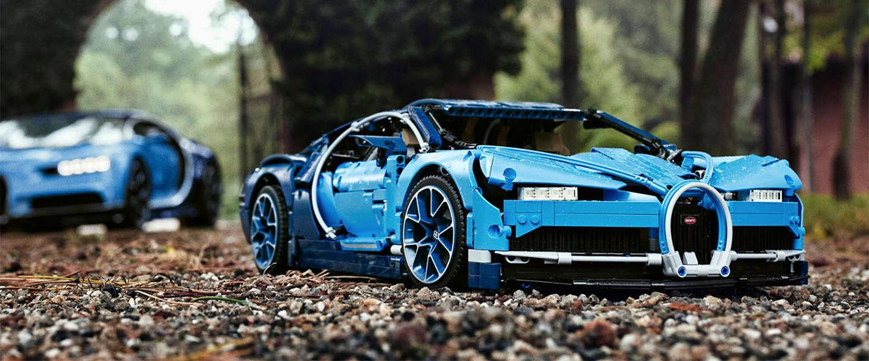 Must have: Bugatti Chiron Lego technic model