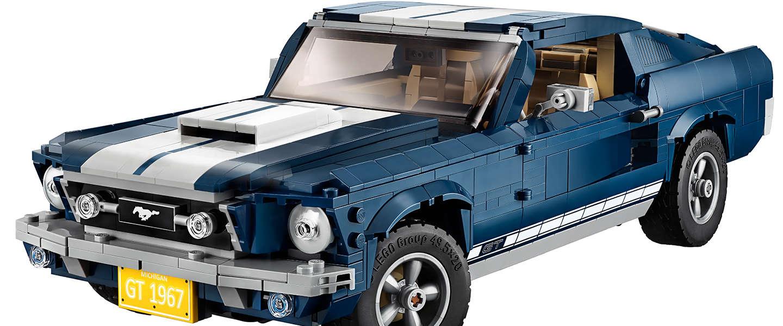 Must have: De iconische 1967 Ford Mustang nu ook verkrijgbaar in LEGO