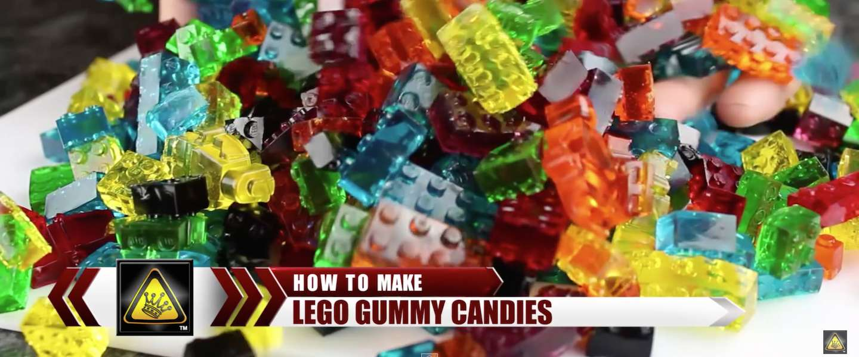 Zelf LEGO-snoepjes maken doe je zo