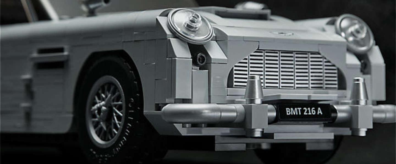 Must have: De Aston Martin DB5 van James Bond in Lego
