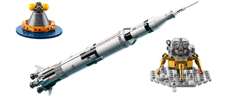 Wow: LEGO gaat Saturn V raket van een meter uitbrengen