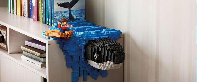 Deze campagnes met Lego-sculpturen zijn echt prachtig