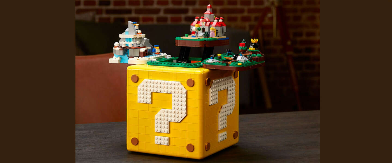 LEGO onthult vraagtekenblok-set voor alle Super Mario 64-fans