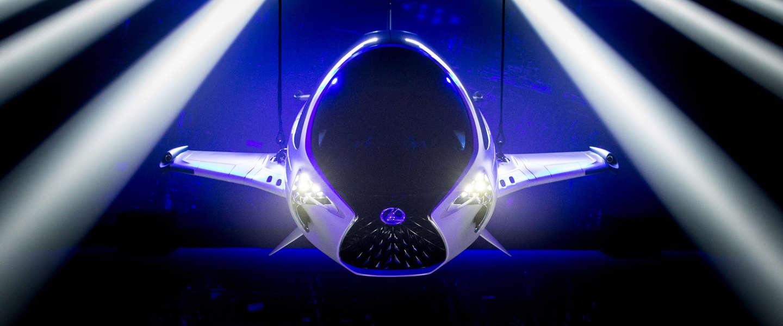Het Lexus Skyjet ruimtevoertuig is serieus science-fiction