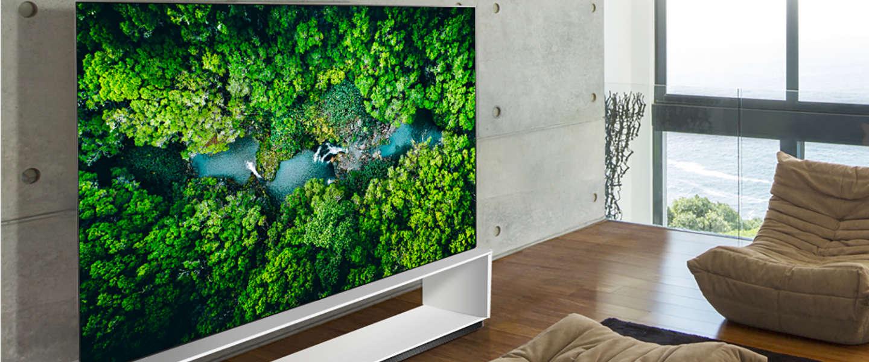 LG toont nieuwe 8K televisies op CES 2020