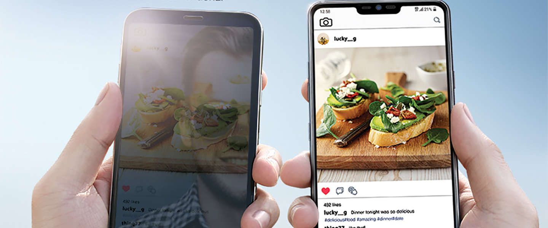 De LG G7 ThinQ smartphone komt met handige AI-functies