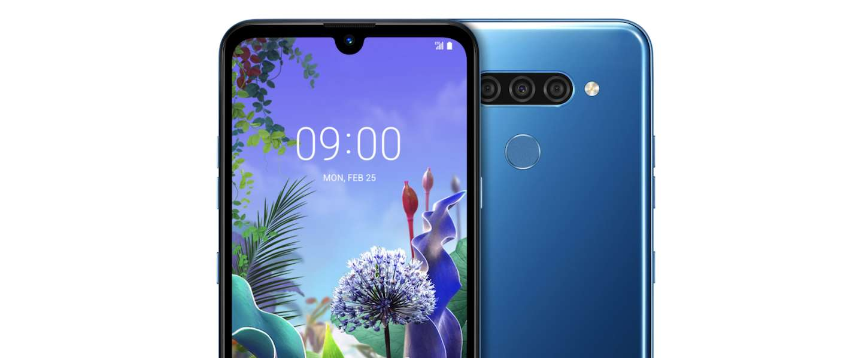 Betaalbare smartphone van LG, de Q60, nu in Nederland te koop
