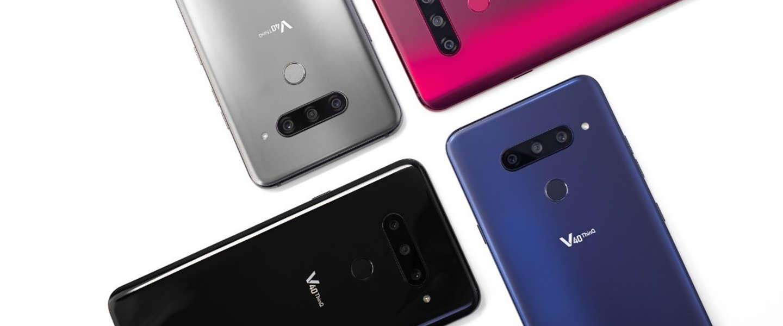 Een smartphone met 5 camera's? Dit is de LG V40 ThinQ