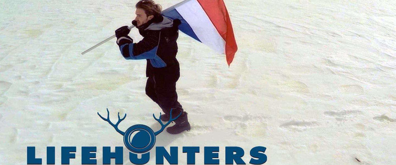 Nederlandse online tv-makers LifeHunters claimen de Noordpool