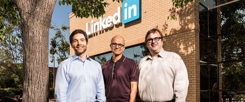 Microsoft koopt LinkedIn voor ruim 26 miljard dollar