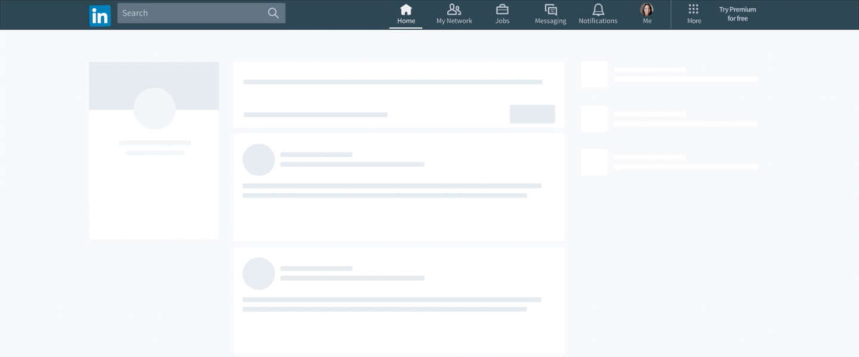 LinkedIn rolt nieuw design uit voor desktop-website