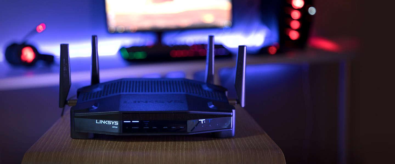Linksys WRT32X-gamingrouter gaat peak pingtijden met 77% verlagen