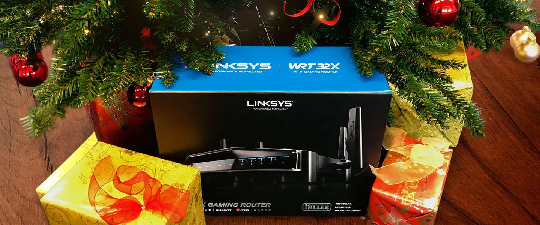 Blijf ook tijdens kerst je tegenstander een stap voor met de WRT32X Gaming Router