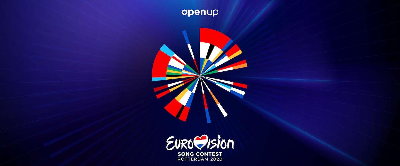 Artwork Eurovisie Songfestival gebaseerd op Dutch Design en data