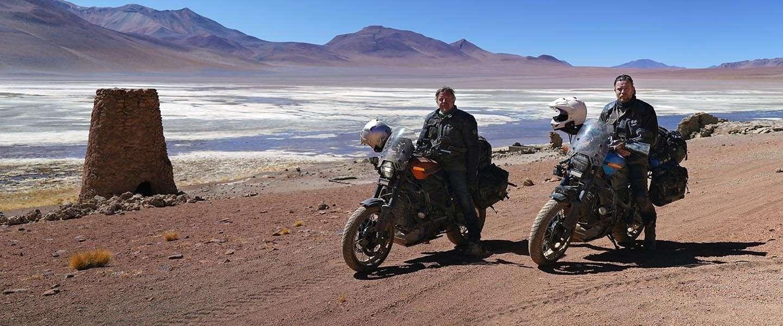 Acteur Ewan McGregor maakt roadtrip op een elektrische Harley-Davidson
