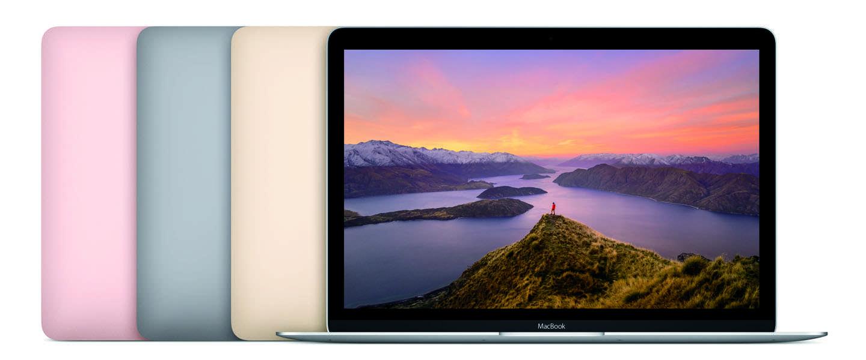MacBook voorzien van nieuwste processors, batterij met langere gebruiksduur