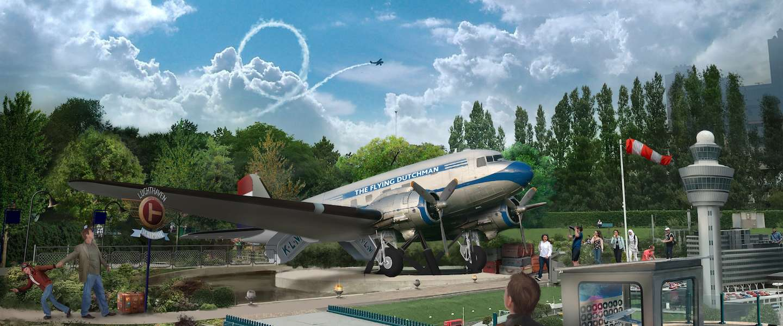 Madurodams nieuwste attractie is eerbetoon aan het 100-jarige KLM
