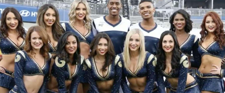 Super Bowl dit jaar voor het eerst met mannelijke cheerleaders