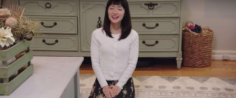 Opruimgoeroe Marie Kondo is de nieuwste Netflix-sensatie