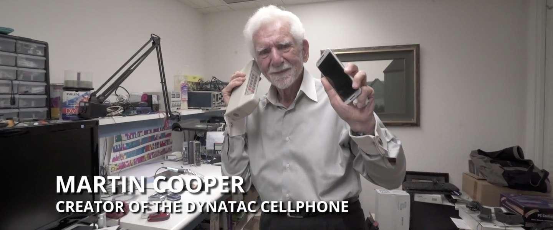 Dit is de man die de mobiele telefoon uitvond