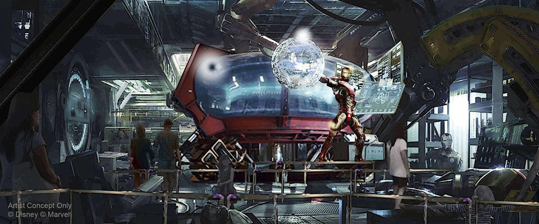 Disneyland Parijs komt met nieuwe Marvel gethematiseerde attractie