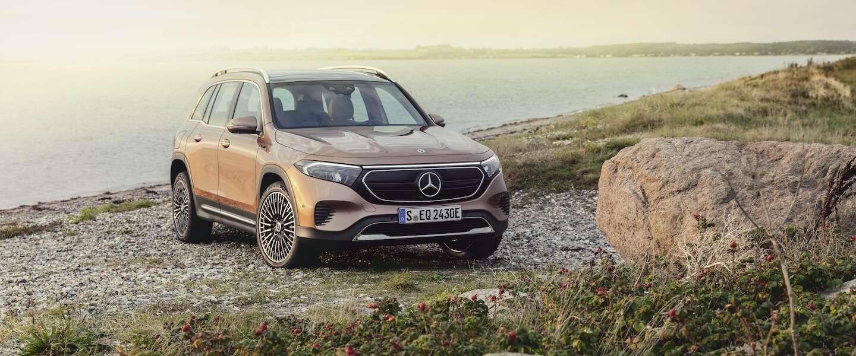 De Mercedes EQB is een volledig elektrische compacte SUV