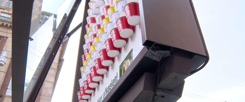 McDonalds deelt gratis McFlurry's uit tijdens #hittegolf