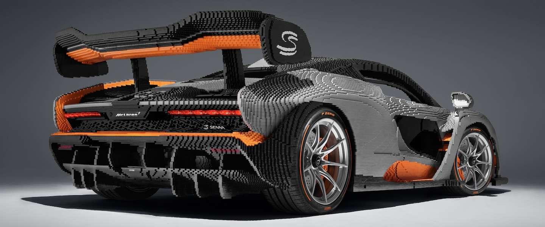 Dit is de eerste McLaren Senna gemaakt op ware grootte met LEGO