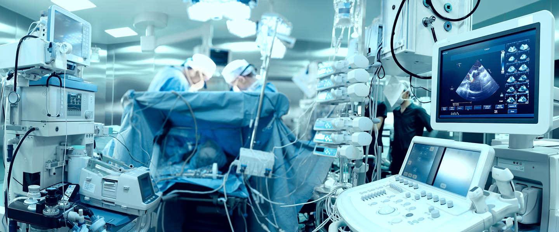 Virusbesmetting van medische apparatuur blijft een risico