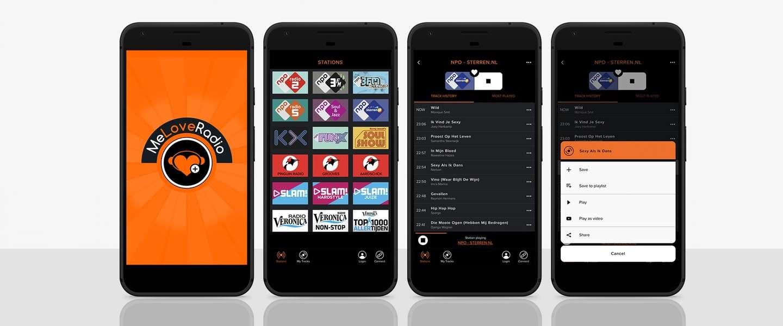 MeLoveRadio - dit is het nieuwe radio luisteren