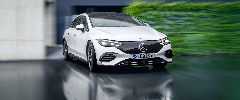 Mercedes onthult de elektrische EQE in München