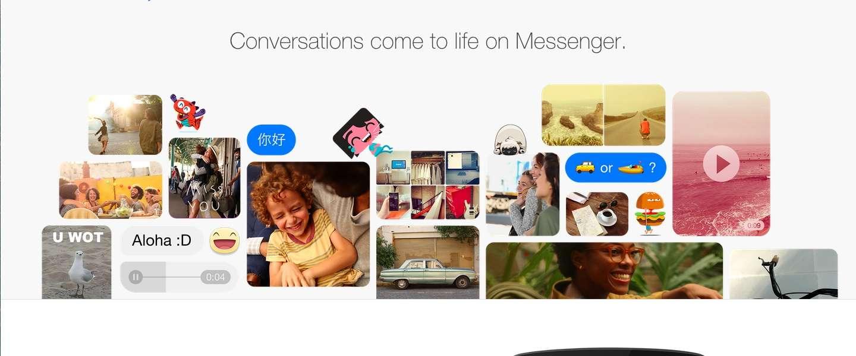 Facebook komt met Messenger voor het web