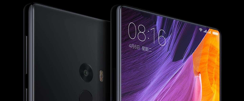 Xiaomi Mi Mix: Smartphone met bijna 100% scherm