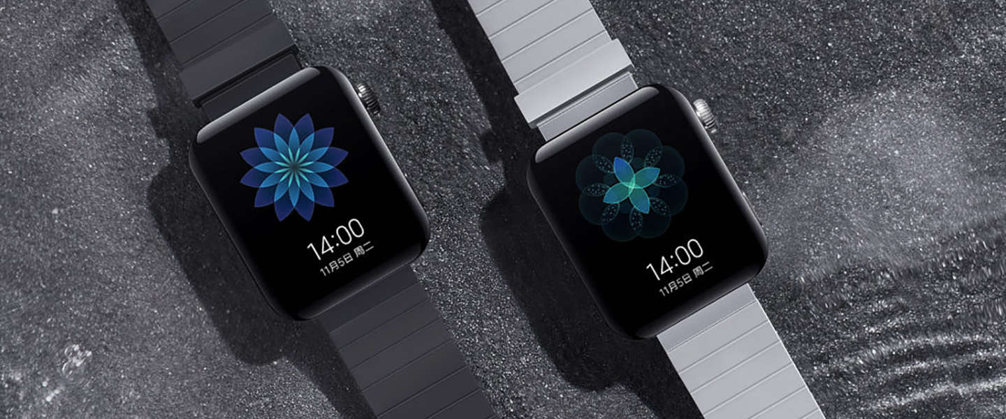 ​Xiaomi's Mi Watch lijkt op de Apple Watch en kost $185