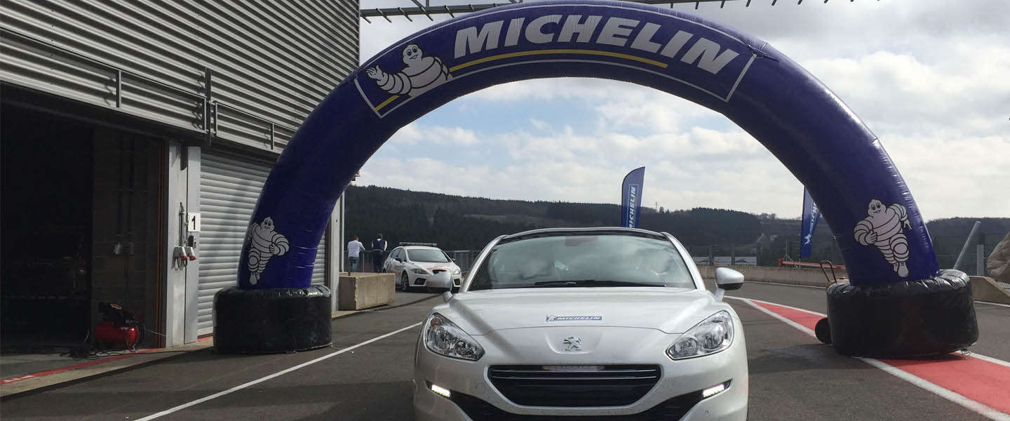 Bandentest met Michelin op Spa-Francorchamps [video]