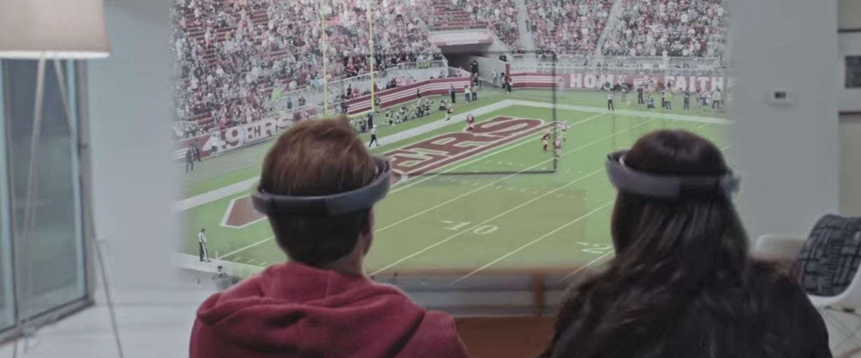 Zo wil Microsoft dat jij in de toekomst sport kijkt