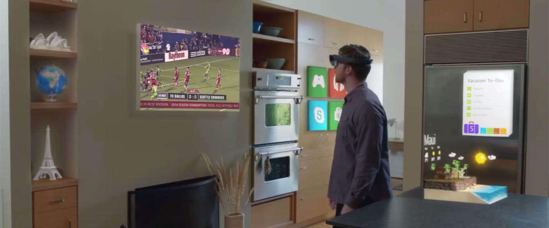 De Microsoft HoloLens biedt een unieke ervaring