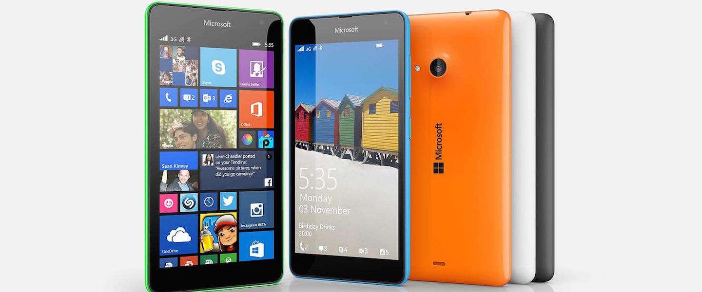 Nieuwe Lumia 535 smartphone per direct beschikbaar