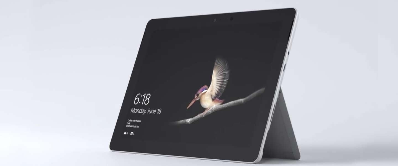 Microsoft komt met kleinere en goedkopere Surface Go