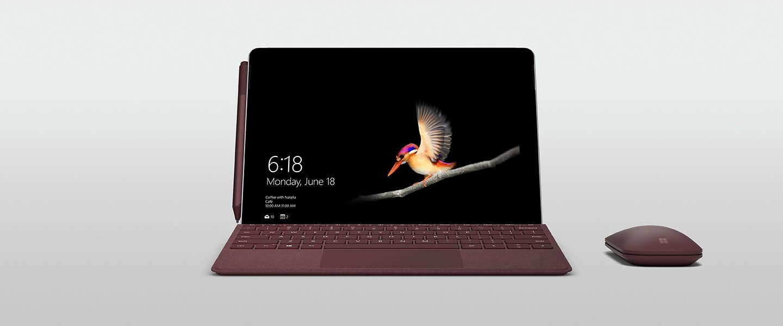 Microsoft's Surface Go is nu beschikbaar in Nederland