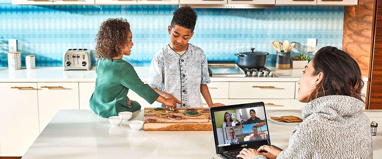 Nederlanders gebruiken relatief vaak video in online vergadering