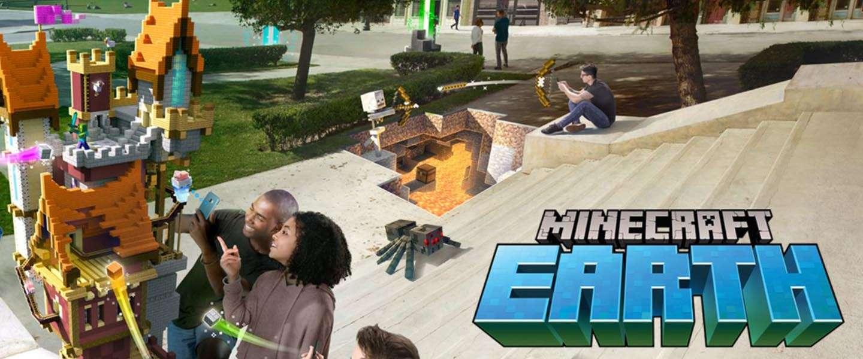 Minecraft Earth al heel binnenkort beschikbaar