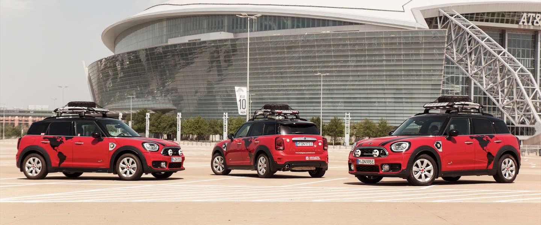 MINI Cooper plug-in hybrid begint aan Panamericana-avontuur