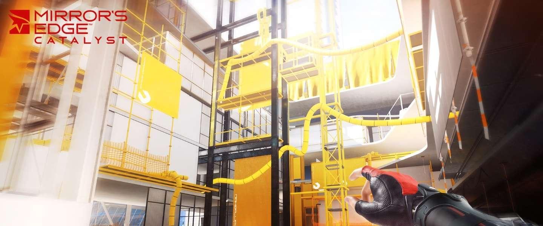 Gamescom 2015: Mirror's Edge Catalyst rent naar hoger niveau