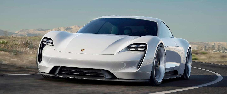 Mission E: eerste elektrisch aangedreven sportwagen van Porsche