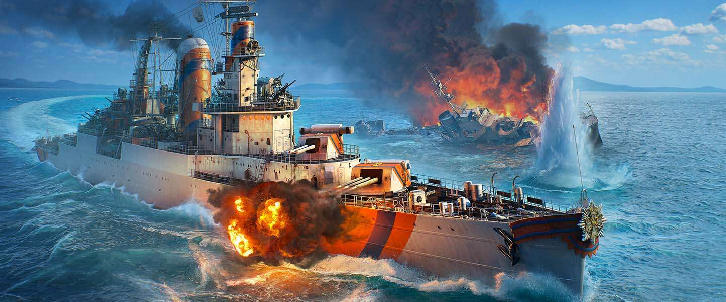 Free-to-play MMO World of Warships zit vol met Nederlandse content