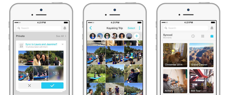 Facebook Moments: Prive foto's delen met vrienden