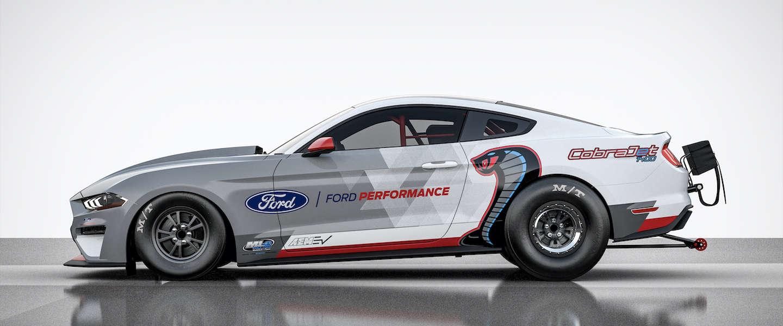 Soms moet je even zwijgen, Ford komt met een elektrische Mustang Cobra